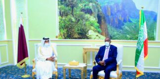 Somaliland President Meets Qatar's Special Envoy