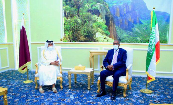 Somaliland President Meets Qatar's Special Envoy