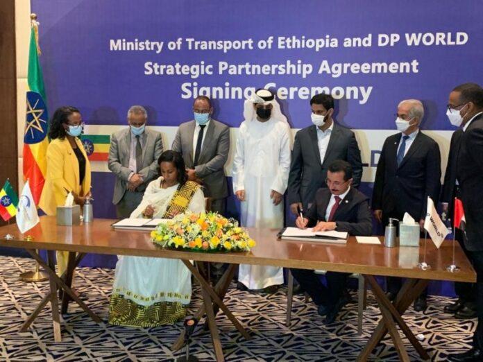 Ethiopia, DP World Sign MoU For Development Of Berbera Corridor