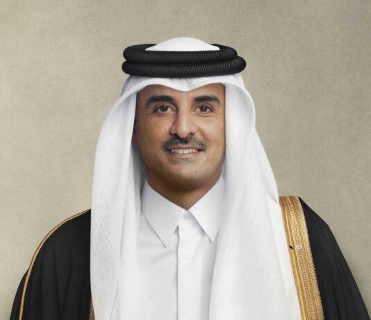 Amir of Qatar Sheikh Tamim bin Hamad Al-Thani
