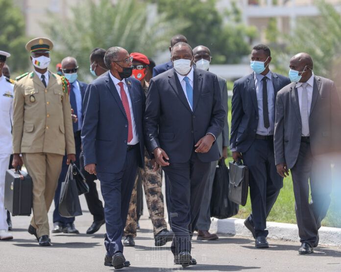 Leaders in show of support for Djibouti's Guelleh as he takes oath of office