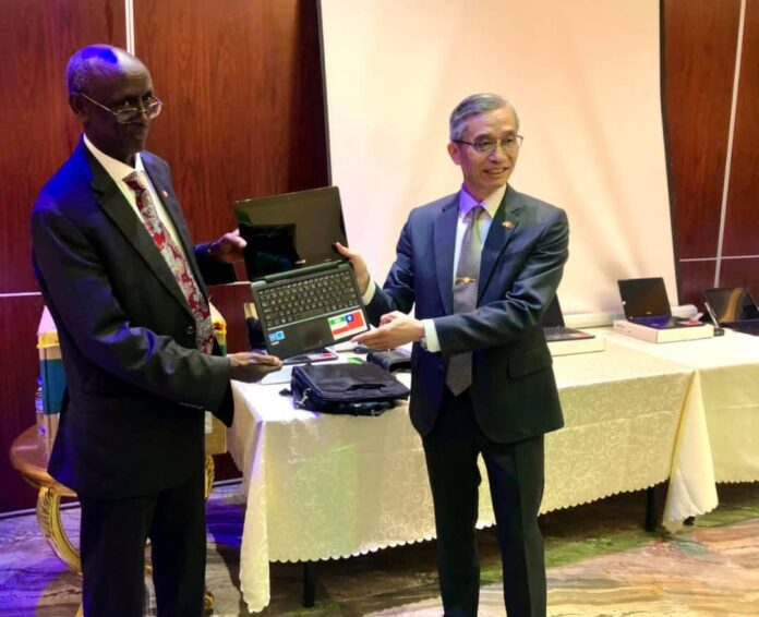 Taiwan supports Somaliland's Iris Biometrics Voter Verification System