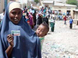 Somaliland woman que to vote