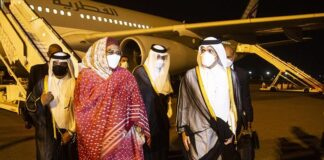 Qatari Foreign Minister visits Sudan to discuss bilateral ties