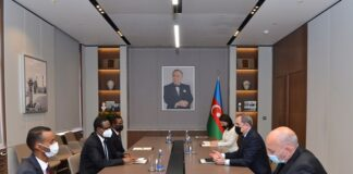 Azerbaijani FM informs ambassador of Somalia about Armenian's atrocities