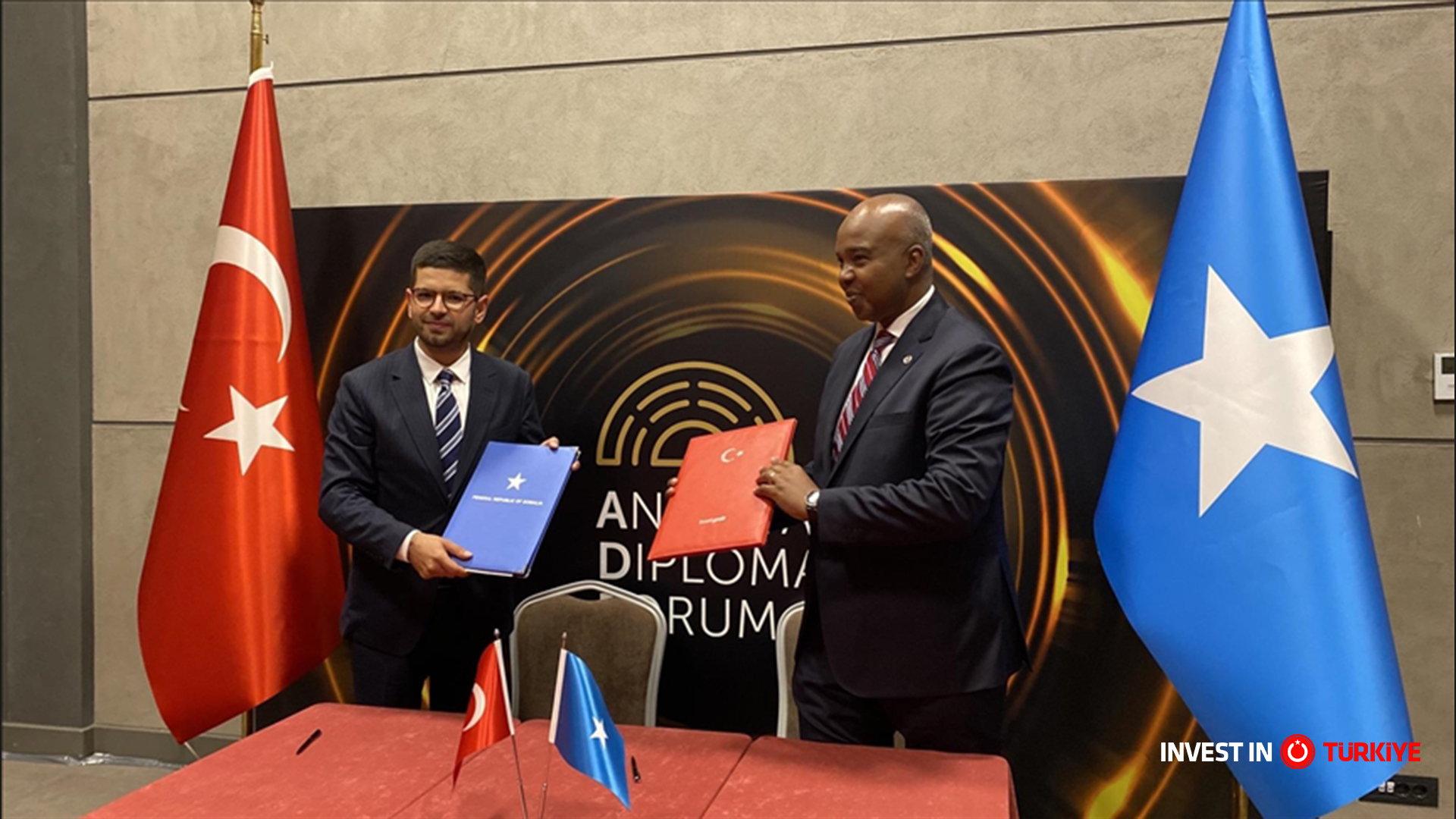 Turkish Investment Office Signs Mou with Somalia Investment Promotion Agency