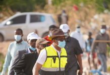 Hargeisa's new mayor leading a campaign cleaning the city's dry river