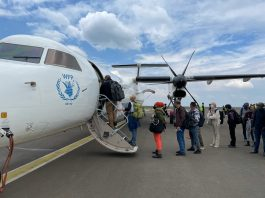 WFP sends first humanitarian passenger flight into Tigray, as famine edges closer in the region