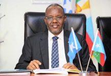 South West state president Abdiasis Lafta Gareen