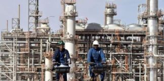 AFPCopyright: AFP The oil and gas sector is the backbone of Algeria's economy
