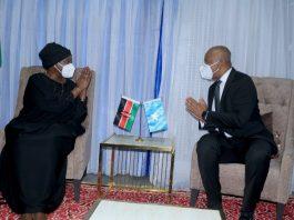 Kenya's Foreign Affairs Minister arrives in Somalia for talks