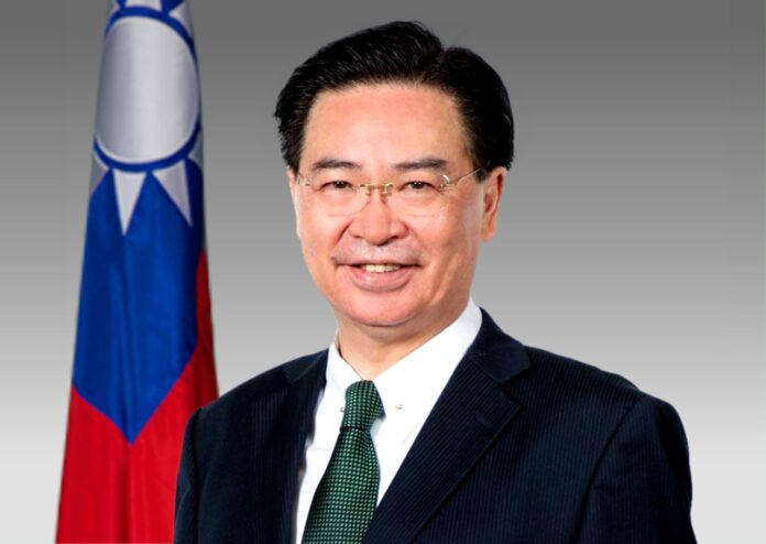 Jaushieh Joseph Wu Minister of Foreign Affairs Republic of China (Taiwan)