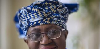 """AFPCopyright: AFP Ngozi Okonjo-Iweala tweeted that she was """"honoured and privileged"""" to be on the Time magazine cover"""