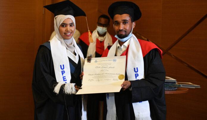 University of Peace students encouraged to contribute to Somalia's peacebuilding