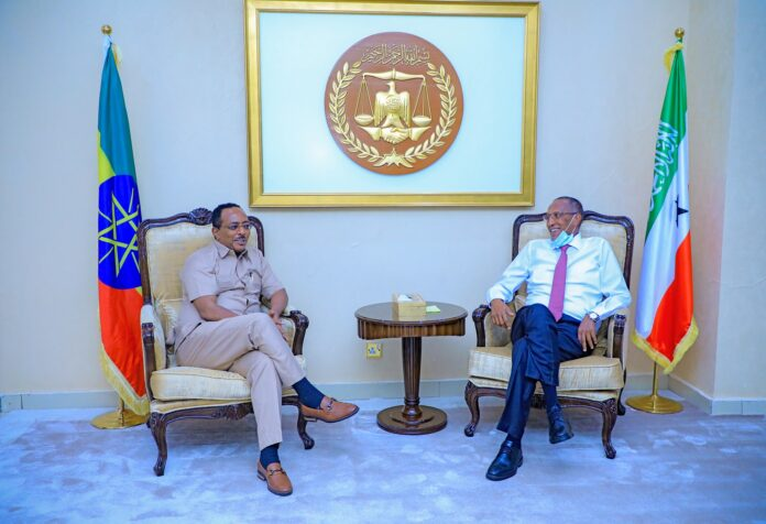 Somaliland President receives visiting Ethiopian State Minister