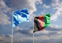Somalia and afghanistan flags