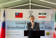 Ambassador Allen C. Lou, Representative of Taiwan Representative Office in the Republic of Somaliland